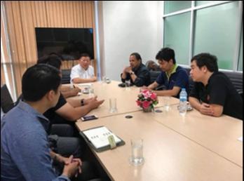 ประชุมหารือการใช้งานระบบอินเทอร์เน็ต ของศูนย์การศึกษา จังหวัดนครปฐม