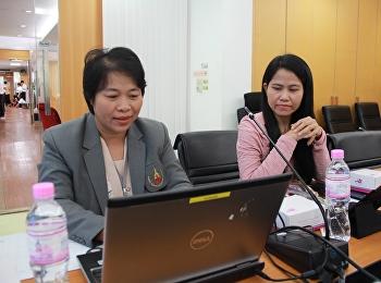 สำนักวิทยบริการและเทคโนโลยีสารสนเทศ จัดการประชุมคณะกรรมการประจำสำนักฯ ครั้งที่ 2/2561