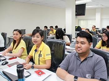 สำนักวิทยบริการและเทคโนโลยีสารสนเทศ จัดการประชุมวิเคราะห์ SWOT