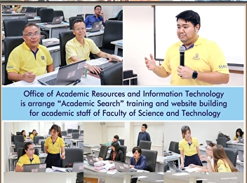 Office of Academic Resources and Information Technology organizes Academic Search training for academic personnel. Faculty of Science and Technology