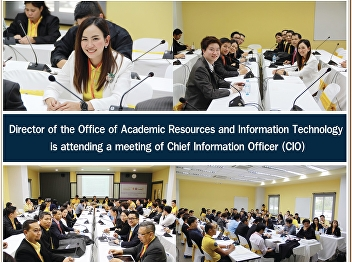 Director of the Office of Academic Resources and Information Technology Attend a meeting of the senior information technology executive (CIO)