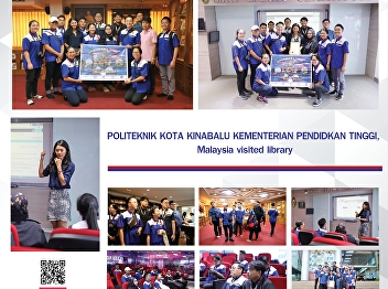 Resource Center Welcoming the University of POLITEKNIK KOTA KINABALU KEMENTERIAN PENDIDKAN TINGGI from Malaysia.