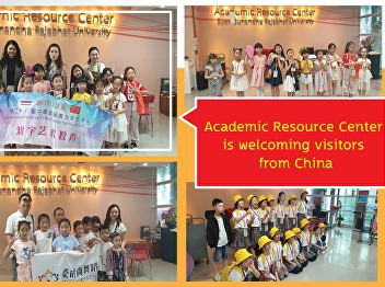 Resource Center Welcoming the parents and students from the People's Republic of China