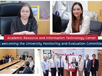 Welcoming the monitoring and evaluation committee of the university